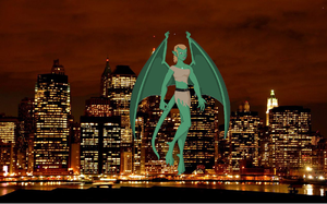Gargoyles OC  Liberty by art-is-my-bream