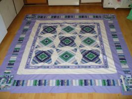 Snowpocalypse Quilt by librarian314