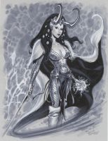 Lady Loki by MichaelDooney
