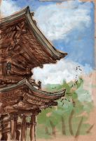 Engakuji Temple Gate by angelac