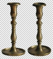 Vintage candlestick PNG by raduluchian