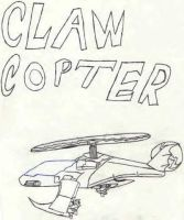 claw copter by dragon3166