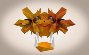 Lowpoly Tiger by wallaberto