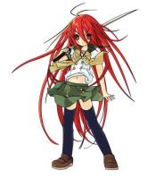 Shana - Flash Drawing by perfectstriker