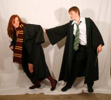 Draco and Ginny 6 by intergalacticstock