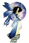 Faerie with blue Orb by Acorncupcake