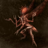 Fungi from Yuggoth by hwango
