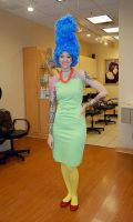 Marge Simpson by glitzygeekgirl