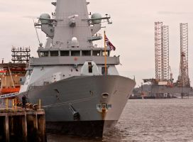 HMS Duncan Destroyer II by DundeePhotographics