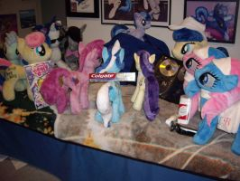 Ponies Packing for a Trip by SniperTeam4
