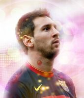Lionel Messi Facebook Profile Photo by napolion06