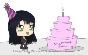 Chibi Birthday Wishes for Jusace!! by ThePlushieLady