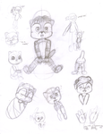 Hamato Alvin sketches by chibialvin