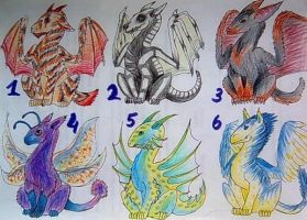 Adoptables:lower prices: by Drerika