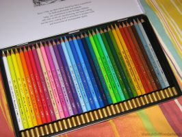 Color pencils by NatsukiInWonderland