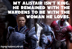 Dragon Age Headcanon: Warden!Alistair by ParisWriter