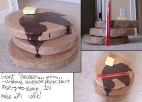 Giant Pancakes by Cats-go-moo-always