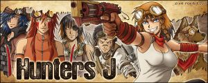 Hunter J - Stand Banner by Tenaga