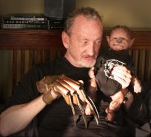 Robert Englund - great babysitter by WerePups
