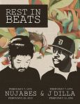 Nujabes and J Dilla - 40th Birthday Poster by glarbinator