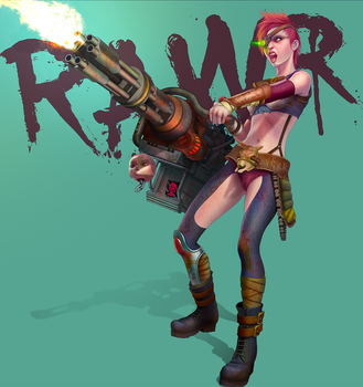 RAWR - Bitch of the Wastes by CameronAugust