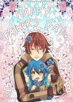 -- DMMD : Happy Father's Day -- by Kurama-chan