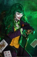 Female Joker cosplay 5 by HydraEvil