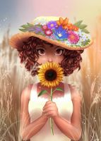 Sunflower by Yur1Rodrigues