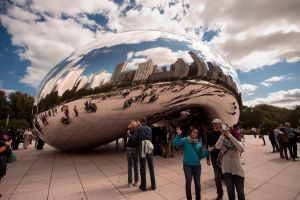 Chicago Bean 1 Color by RollingFishays