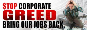 STOP Corporate GREED A by reyjdesigns
