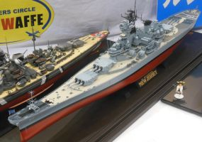 USS New Jersey BB-62 Model by rlkitterman