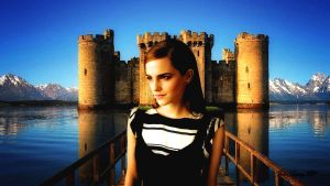 Emma Watson Fairy Tale III Colour by Dave-Daring