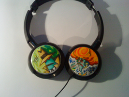 Psychonuats Headphone by MissTiiParty
