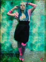 Scene Girl Cherry Green Edit by cherrybomb-81