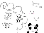 I'm Expert At (First Draw) by LuaBlanca