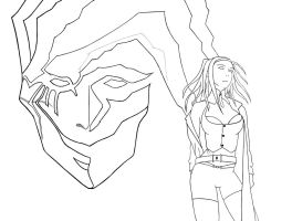 Ergo Proxy - Refined Lineart by qayyz