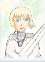 Clare Claymore by whysp80