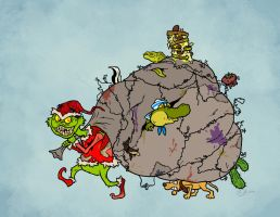 Christmas 12: the Grinch by Monster-Man-08