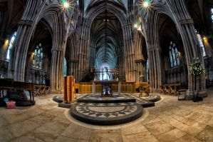 Lichfield Cathedral 2 by Engazung