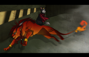 Red and Caith by Shagan-fury