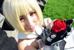 Saber Lily Cosplay (Armor) III. by KagerouRyuzuu