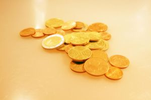 Gold Coins by thesmallwonder