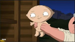 Stewie is Jesus Christ! *Screenshot* by HuntressxTimeLady