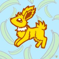 Nanners The Jolteon by Cappies