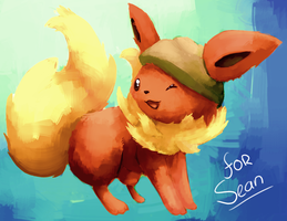 -CO- Flareon by kiwisco