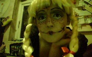 Scary doll by alicecorley
