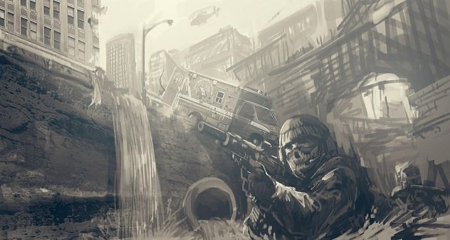 call of duty ghosts by MACCOLA