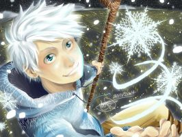 Jack Frost - 'Tis the Season by mangarainbow
