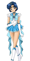 Princess Sailor Mercury by nads6969