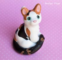 Lilo the kitty commission by SculptedPups